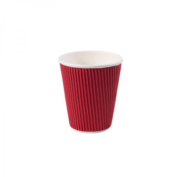 8oz-Ripple-Wall-Hot-Cup-Redjpg