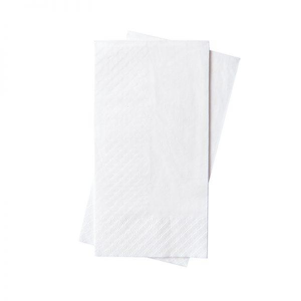 Dinner Napkin 2PLY - Plain White