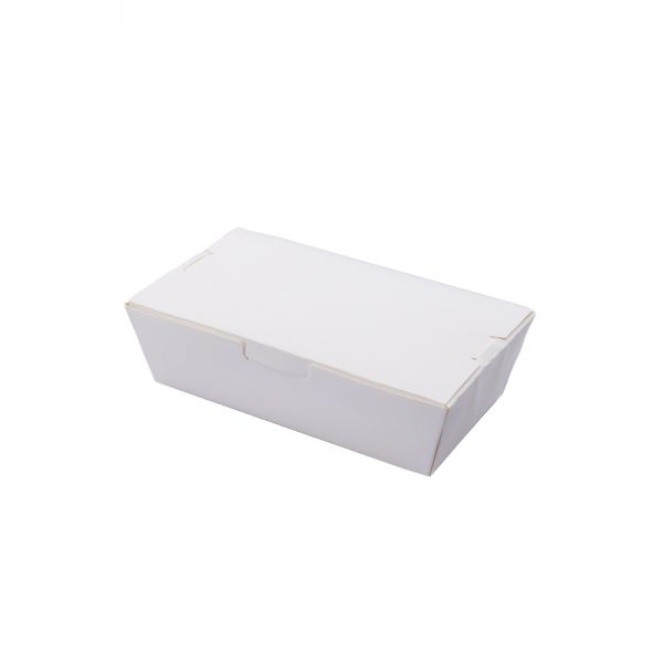 Paper Lunch Box - White .M