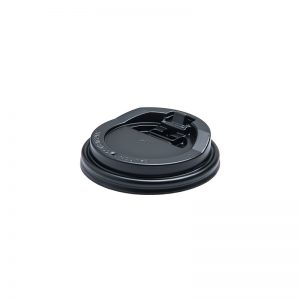 Reclosable Lid - Black